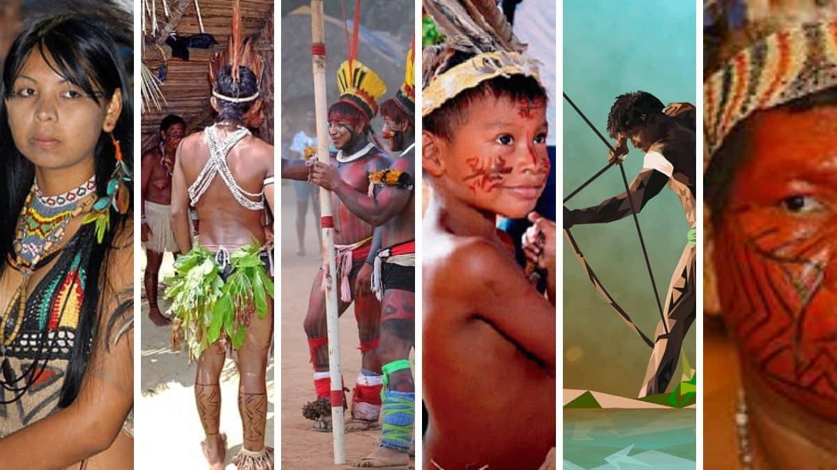 Nombres de los grupos indígenas de la Amazonia