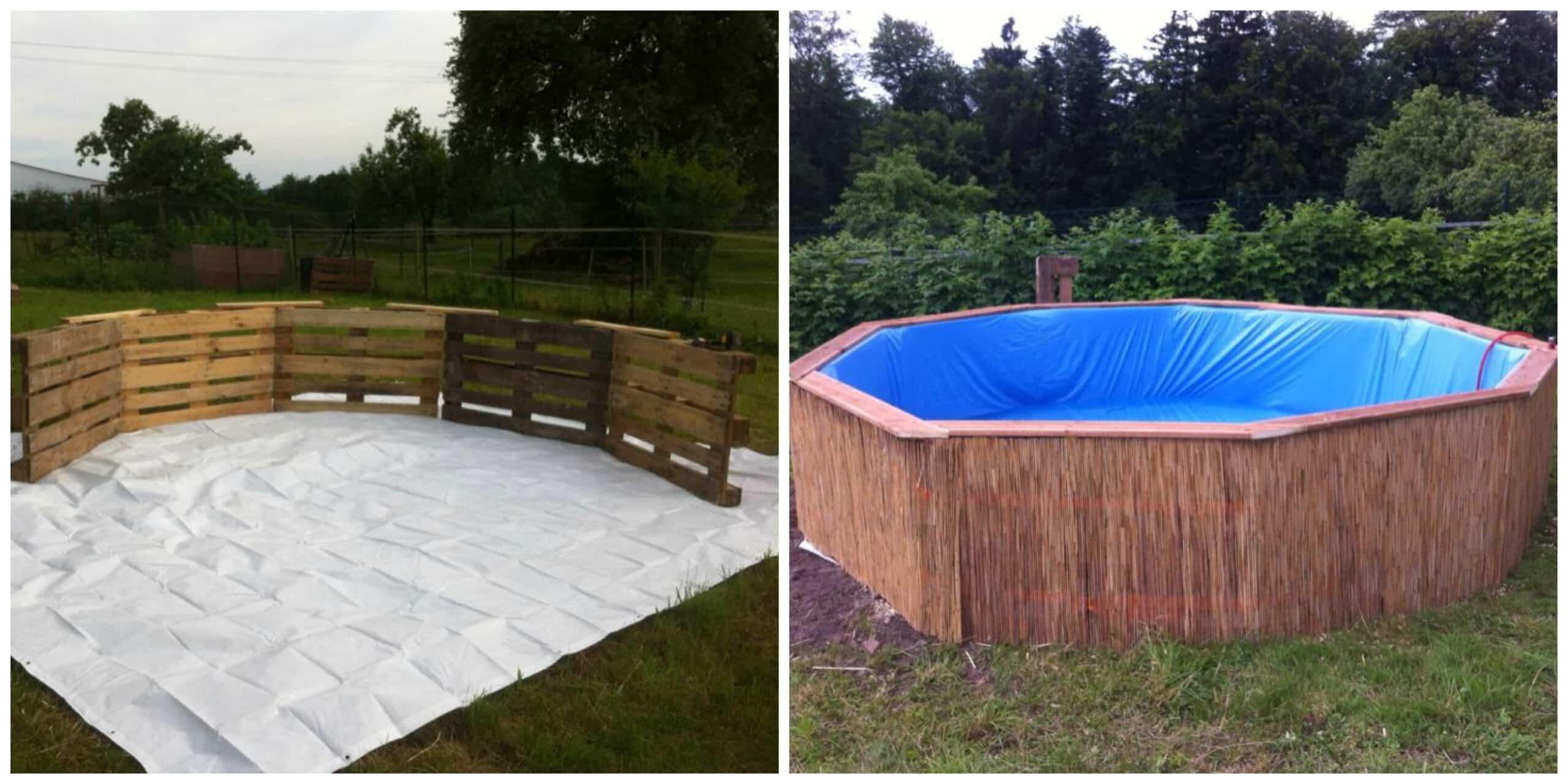 cómo hacer una piscina