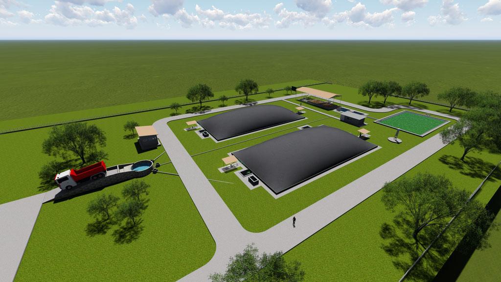 Energía biogás