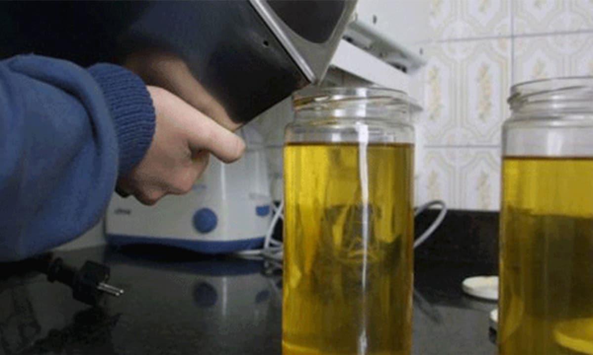 Qué hacer con el aceite usado